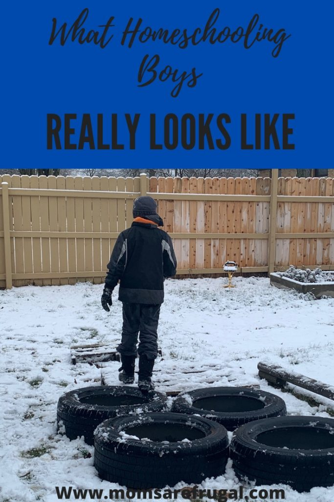 What Homeschooling Boys Really Looks Like