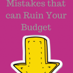 Frugal Home  Mistakes That Can Ruin Your Budget