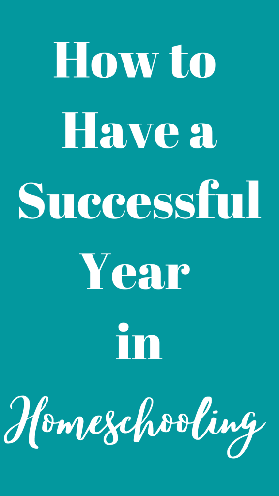 How to Set Up a Successful Homeschooling Year